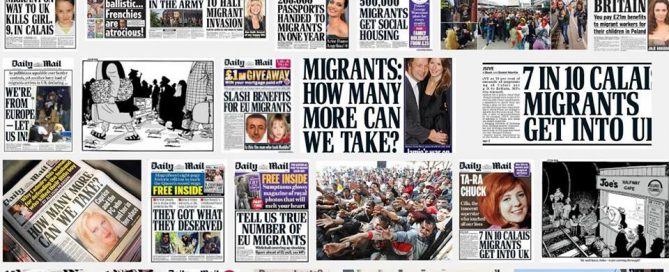 Headlines from the sun, daily mail and daily express