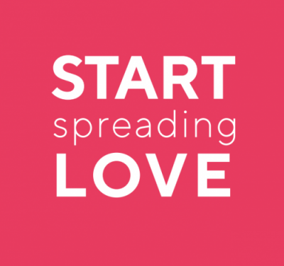 Start Spreading Love logo