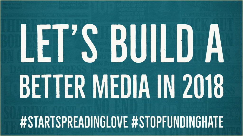 let's build a better media in 2018