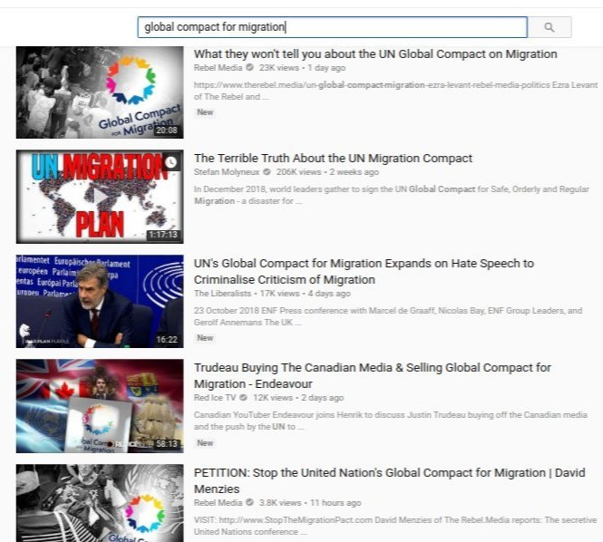 youtube results for global compact on migration