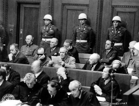 Nazi propagandists were prosecuted at Nuremberg